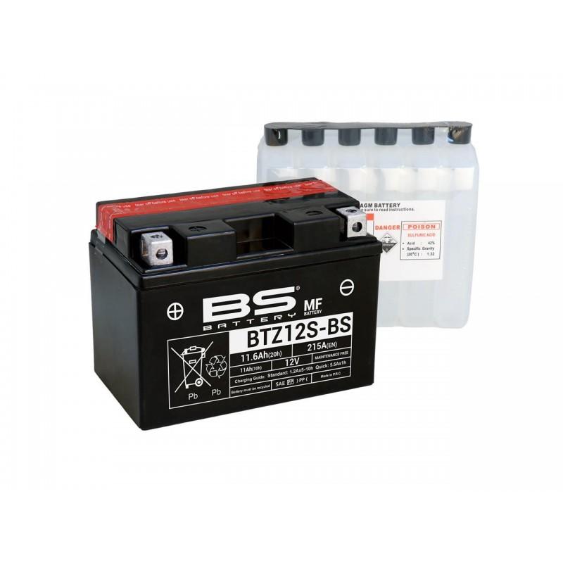Batterie BS BATTERY BTZ12S-BS